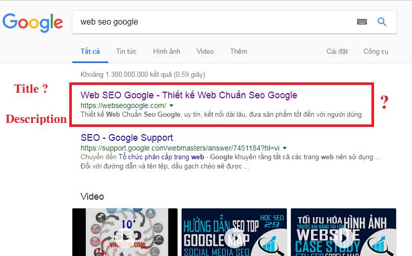 Seo web bán hàng